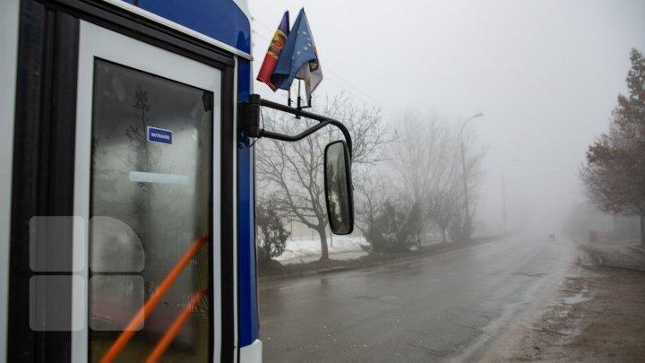 В Кишиневе открыли новый троллейбусный маршрут №35 (фото)