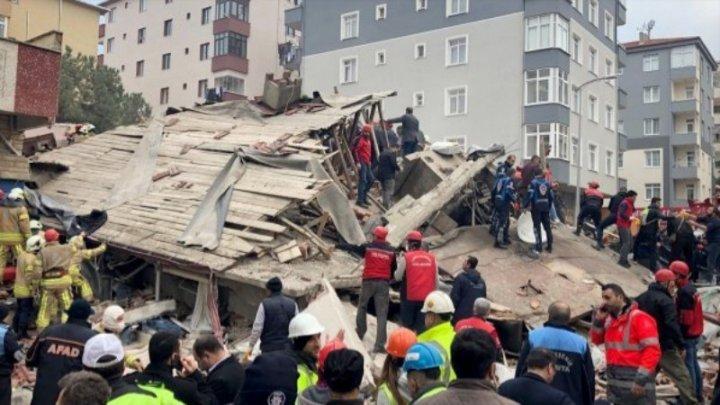 Число погибших при обрушении дома в Стамбуле возросло до 17