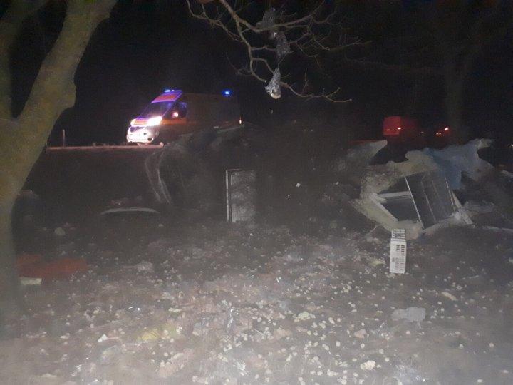 ДТП на трассе Анений-Ной - Каушаны: автомобиль превратился в груду металла, водитель госпитализирован