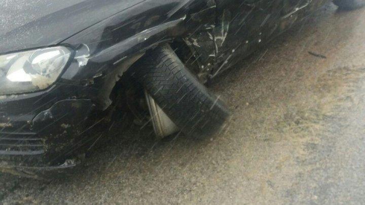 Кортеж Игоря Додона снова попал в аварию (фото)