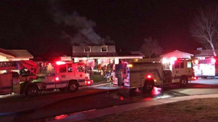 Вдова бросилась спасать детей из горящего дома и погибла