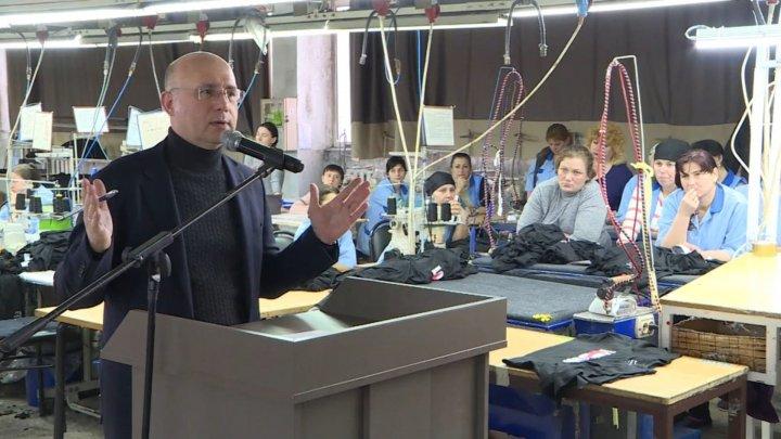 Предвыборный караван ДПМ посетил две фабрики в Чадыр-Лунге