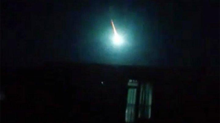 Падение метеорита в Венесуэле сняли на видео