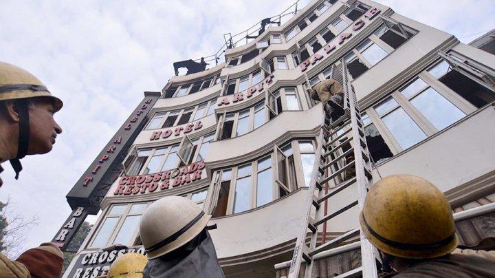 В Индии арестован владелец сгоревшего отеля Arpit Palace