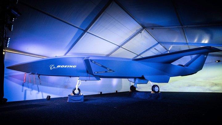 Boeing презентовал новый боевой дрон
