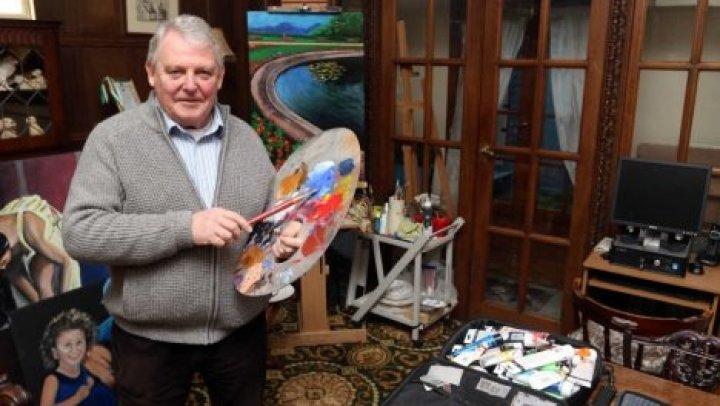 69-летний пенсионер из Англии стал одарённым художником после инсульта (фото)