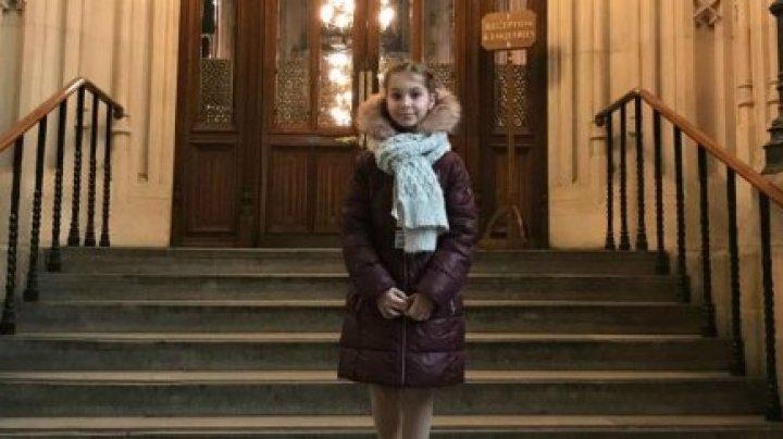 11-летнюю девочку из Молдовы пригласили в парламент Великобритании