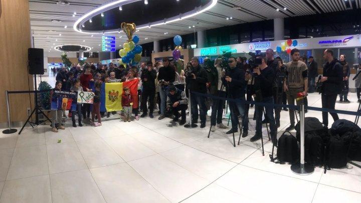 Теннисист Раду Албот прибыл в Кишинев