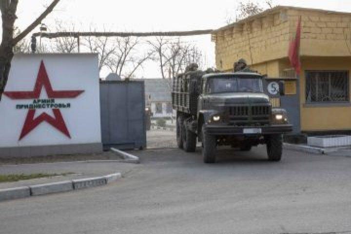 Очередные военные учения прошли в приднестровском регионе