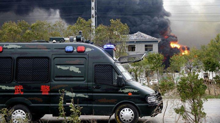 В Китае 117 человек остаются в тяжелом состоянии после взрыва на химзаводе