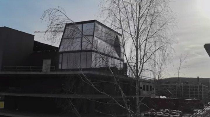 В Цюрихе роботы построили дом