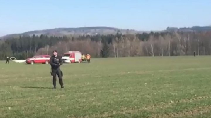 В Чехии разбился вертолет: двое погибших