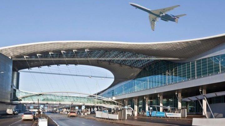В московском аэропорту Домодедово голый пассажир сорвал отправление авиарейса