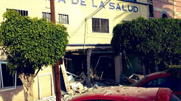 Взрыв в больнице Мексики: ранены 14 человек