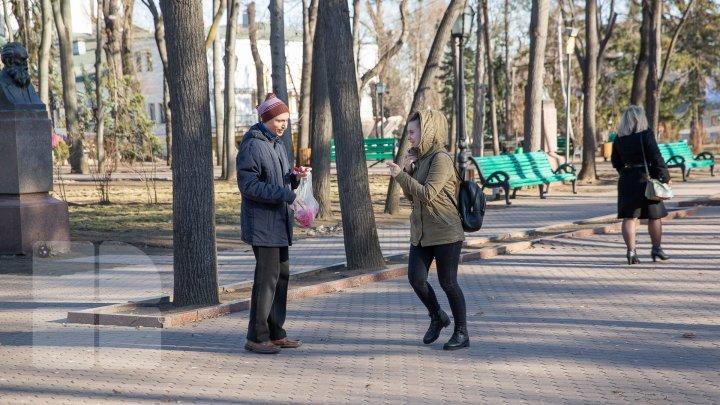 В центральном парке столицы сегодня раздавали мэрцишоры (фото)