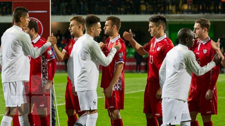 Сборная Молдовы уступила Франции в отборочном турнире чемпионата Европы по футболу 2020 года (фото)