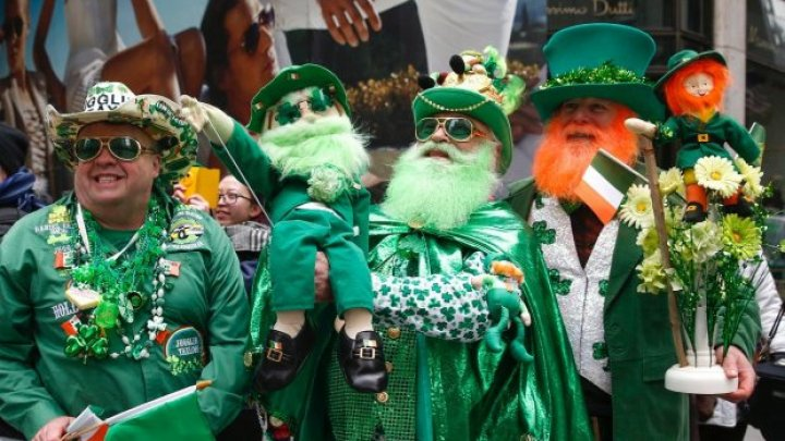 В Ирландии отмечают День святого Патрика