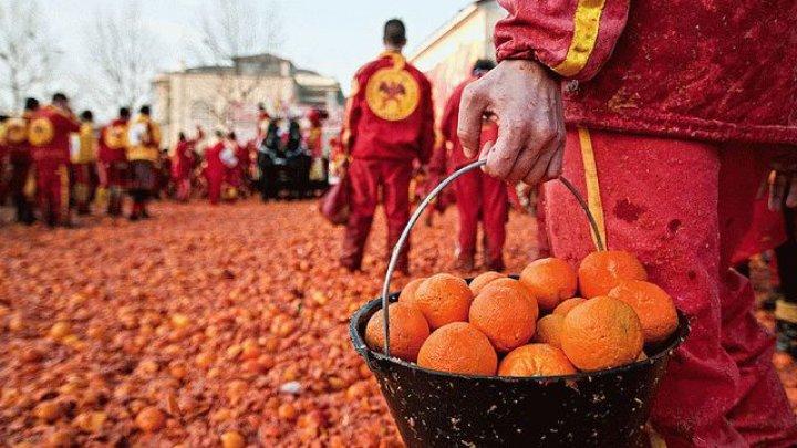 """В Италии стартует """"апельсиновое побоище"""""""