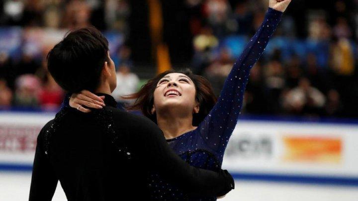 Китайский дуэт с рекордом победил на чемпионате мира по фигурному катанию