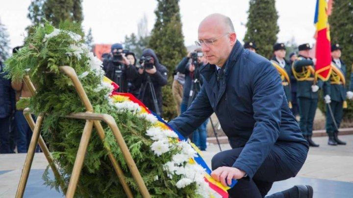 Павел Филип почтил память героев, павших в конфликте на Днестре
