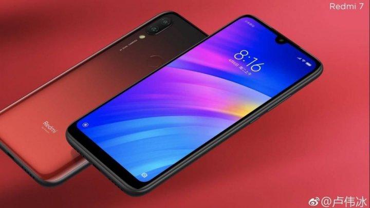 Xiaomi представила сверхбюджетный смартфон Redmi 7v