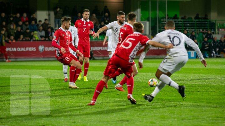 Особенно внимательно за матчем Молдова-Франция следили в селе Коржеуць Бричанского района