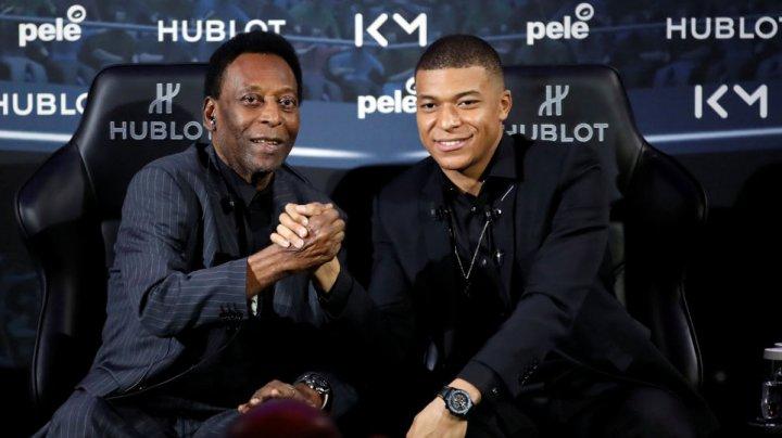 Килиан Мбаппе встретился со своим кумиром - Пеле