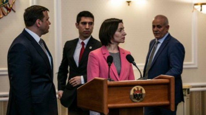 Майя Санду: блок ACUM больше не пригласит ПСРМ на переговоры