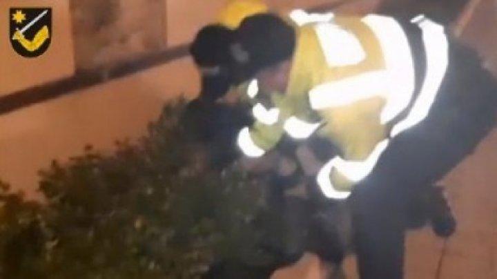 На Ботанике пьяный водитель спровоцировал аварию и попытался покинуть место происшествия