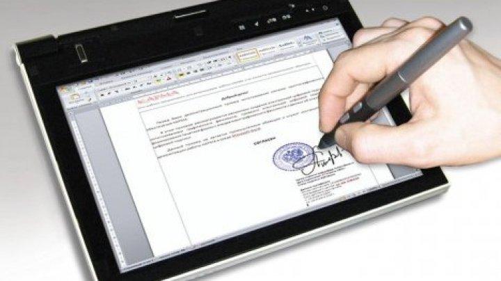 В Молдове растет количество пользователей электронных подписей