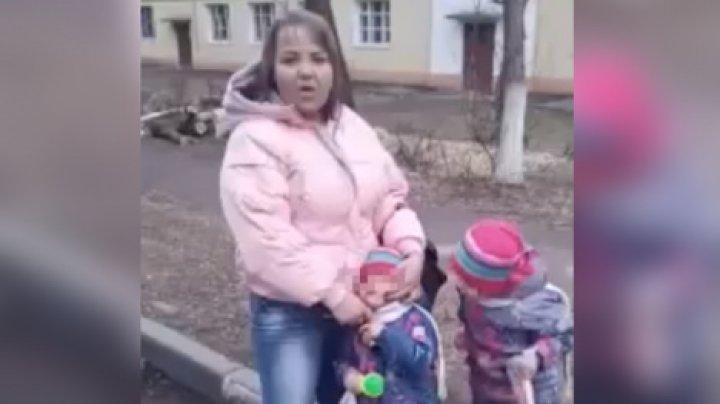 В Подмосковье женщина приставила нож к горлу дочери, пытаясь вернуть бывшего мужа (видео)