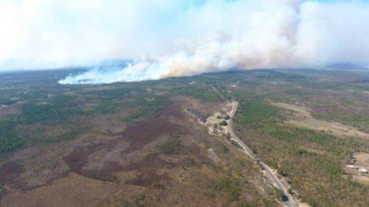 Масштабный пожар из Беларуси надвигается в Украину