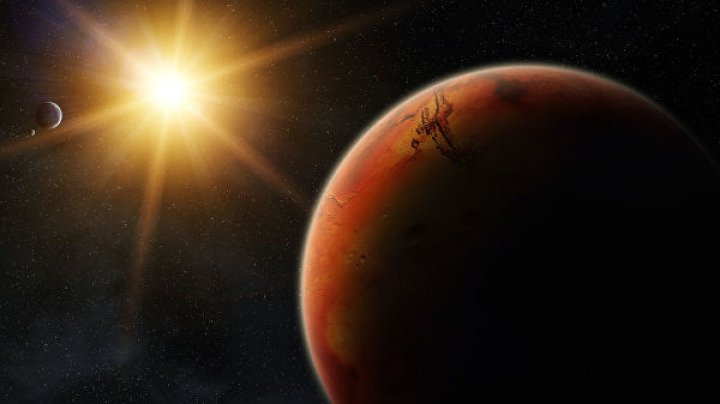 На Марсе произошло землетрясение
