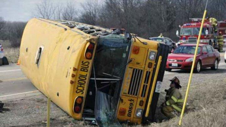 В Турции перевернулся школьный автобус: 34 пострадавших