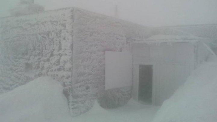 В Карпатах бушует апрельский снегопад