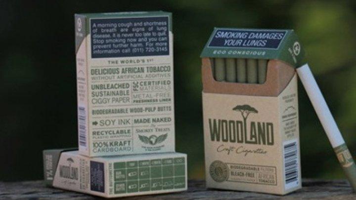 Впервые в мире создали эко-сигареты