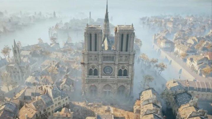 Собор Парижской Богоматери могут восстановить с помощью компьютерной игры (видео)