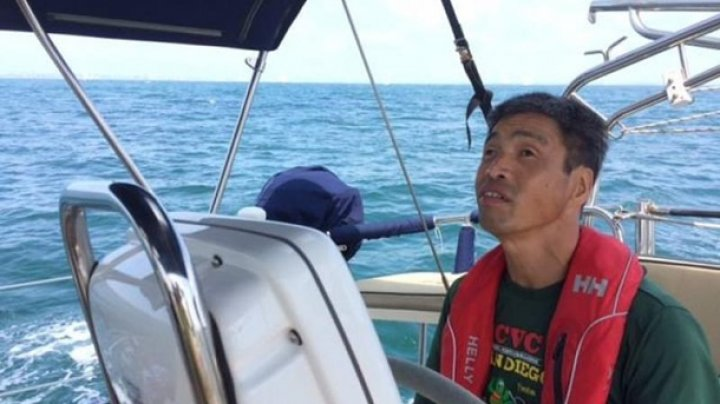 Незрячий японец впервые в мире пересек Тихий океан на яхте