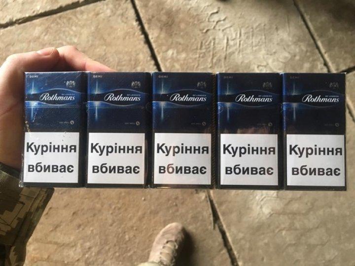 На границе с Румынией изъяли крупную партию контрабандных сигарет (фото)