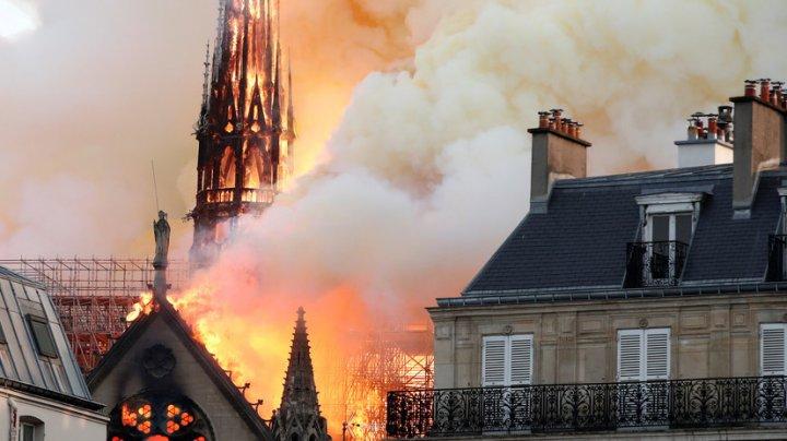 МИДЕИ выразил сожаление в связи с пожаром в соборе Парижской Богоматери