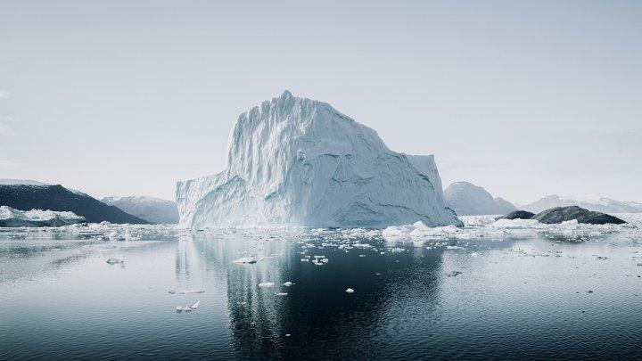 Ученые: Таяние льдов Гренландии ускорилось в шесть раз