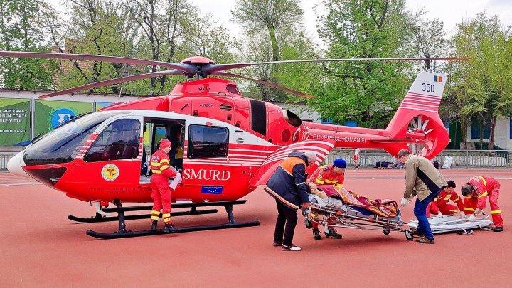 Экипаж SMURD доставил в Кишинев 33-летнего мужчину, пострадавшего в ДТП в Ниспоренах