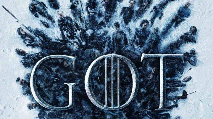 """Авторы """"Игры престолов"""" показали постер финального сезона с мёртвыми героями"""