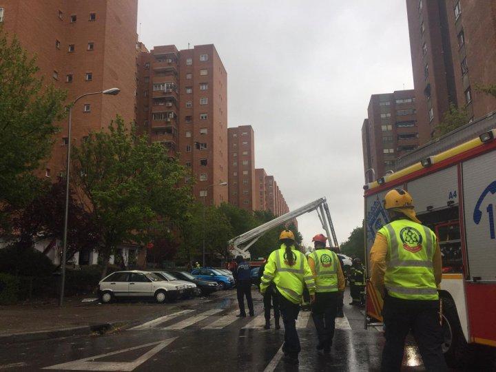 В многоэтажке в Мадриде прогремел сильный взрыв, есть раненые (фото)