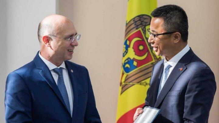 Павел Филип призвал китайских бизнесменов инвестировать в Молдову