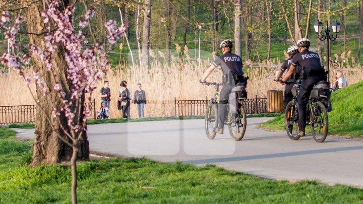 Патрульные полицейские на велосипедах возобновили свою деятельность