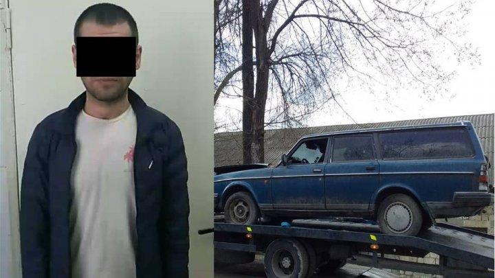 На Рышкановке молодой парень угнал автомобиль и попытался сдать его на металлолом