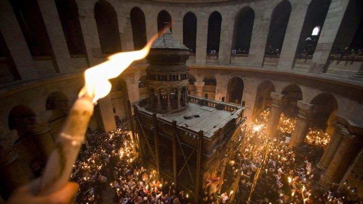 Благодатный огонь из Иерусалима будет доставлен в Молдову 27 апреля