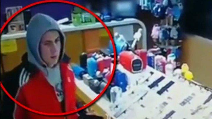 Полиция задержала парня, укравшего телефон и золотую цепочку из магазина