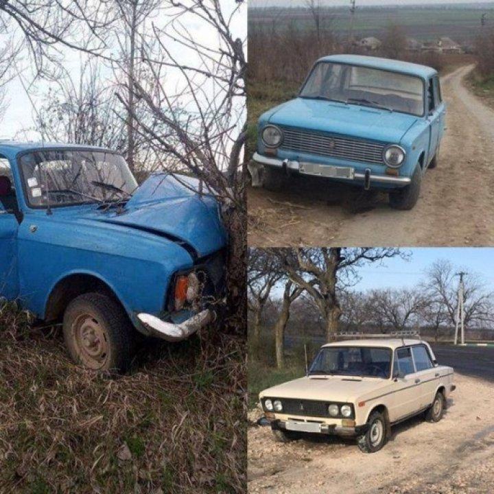 Двое несовершеннолетних угнали автомобили ВАЗ и Москвич в Криулянском районе